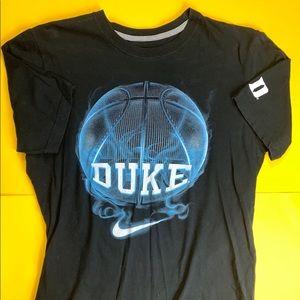 Duke Basketball Nike T Shirt Mens Large BlueDevils